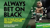Paddy Power's McGregor/Mayweather ad banned by British watchdog
