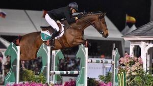 Ireland's show jumping team finish as runners-up in Florida