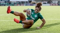 New talent stepping up for Ireland, says veteran Naoupu