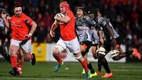 Debutant John Hodnett stars as 10-try Munster seal record win