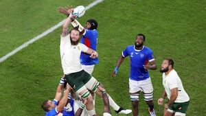 Nine-try South Africa cruise to victory over Namibia