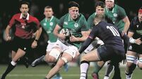 Kieran Campbell urges Irish youngsters to display ruthless edge against Wales