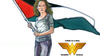 Irish artist flies the flag for Palestine
