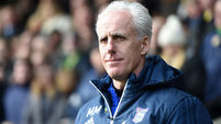 Mick McCarthy apologises for bad language during derby celebration