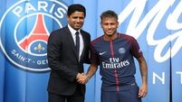 PSG chairman Nasser Al-Khelaifi vows Neymar will stay at club