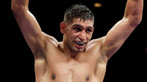 Home fights persuaded Amir Khan to join Matchroom