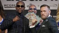 Mayweather: Beating McGregor will be a 'cakewalk'
