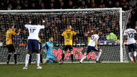 Harry Kane rides to Tottenham's rescue to secure FA Cup replay against Newport