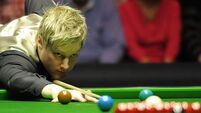 Neil Robertson and Stuart Bingham bow out early in Guangzhou