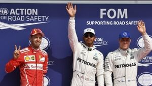 Lewis Hamilton equals Michael Schumacher's all-time pole position record at Spa-Francorchamps