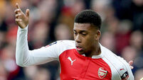 Arsenal forward Alex Iwobi fined for 'unacceptable' partying before match