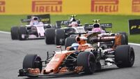 Honda hint Fernando Alonso deliberately pulled out of Belgian Grand Prix