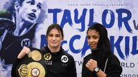 'My dream is to unify the division,' Katie Taylor ahead of her WBA lightweight title defence