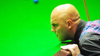 Mark King misses out on maximum at UK Championship