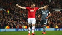 Man United on brink of Champions League knock-out phase as Jose Mourinho's men on course for narrow win