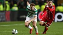 Celtic exit Champions League after a 2-1 defeat to Bayern Munich