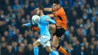 Heartbreak for Wolves as Man City rely Claudio Bravo penalty heroics