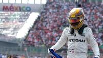 Lewis Hamilton finds fourth world title hard to take in after drama in Mexico