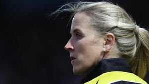 Joy Neville 'looking forward to the challenge' of refereeing men's international rugby match