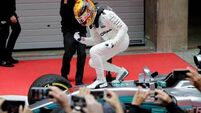 Practice proves perfect as Lewis Hamilton sets US Grand Prix track record