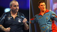 'You little s***': Phil Taylor slams Derry darts player before walking out of TV interview