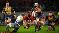 Munster overcome Scarlets - and Storm Jorge - at Thomond Park