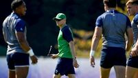 Joe Schmidt ready to roll up sleeves while the big guns get rest and relaxation