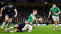 Garry Ringrose ruled out of Wales and England games