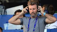 Robbie Savage was not impressed with Eamon Dunphy after seeing him on TV
