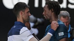 Gael Monfils complains of heat-stroke in Novak Djokovic loss