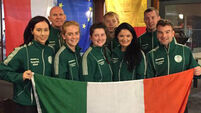 Double success for Ireland and European Senior Racquetball Championships
