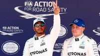 Valtteri Bottas claims top spot in final practice by three thousandths of a second