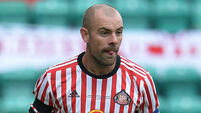 Darron Gibson out for up to 10 weeks with groin injury