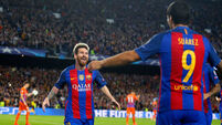 Suarez and Messi earn comeback win for Barca in Coutinho's LaLiga debut