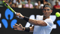 Rafael Nadal cruises past Andrey Rublev to move closer to Roger Federer meeting