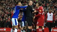 Ref to include Holgate/Firmino incident in report of Merseyside Cup clash