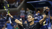 Nadal saves two match points on his way to victory over Pouille at China Open