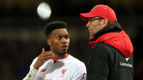 Daniel Sturridge leaves Liverpool for West Brom loan spell