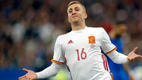 Barcelona's Deulofeu makes Premier League return on loan deal