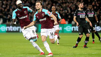 Mark Noble saves point for Hammers with spot-kick against Palace