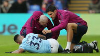 Man City 'write to referees' body following series of bad tackles on players'