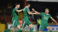 Cork City's Graham Cummins marks return from suspension with hat-trick against Sligo Rovers