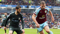 Burnley v Manchester City - Premier League - Turf Moor
