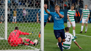 Celtic dumped out of Europa League by Zenit St Petersburg
