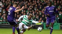 Celtic to play European football after Christmas despite defeat to Anderlecht