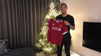 Virgil van Dijk 'can't wait to pull on famous red shirt' after Liverpool move