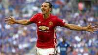 Jose Mourinho expects Zlatan Ibrahimovic to return before end of 2017