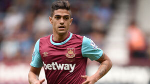 West Ham's Manuel Lanzini charged for diving to win penalty