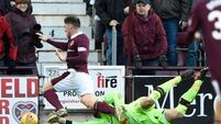 Hearts emphatically end Celtic's unbeaten domestic run