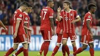 Celtic outclassed by Bayern Munich